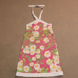 Lilly Pulitzer girl's daisy halter dress